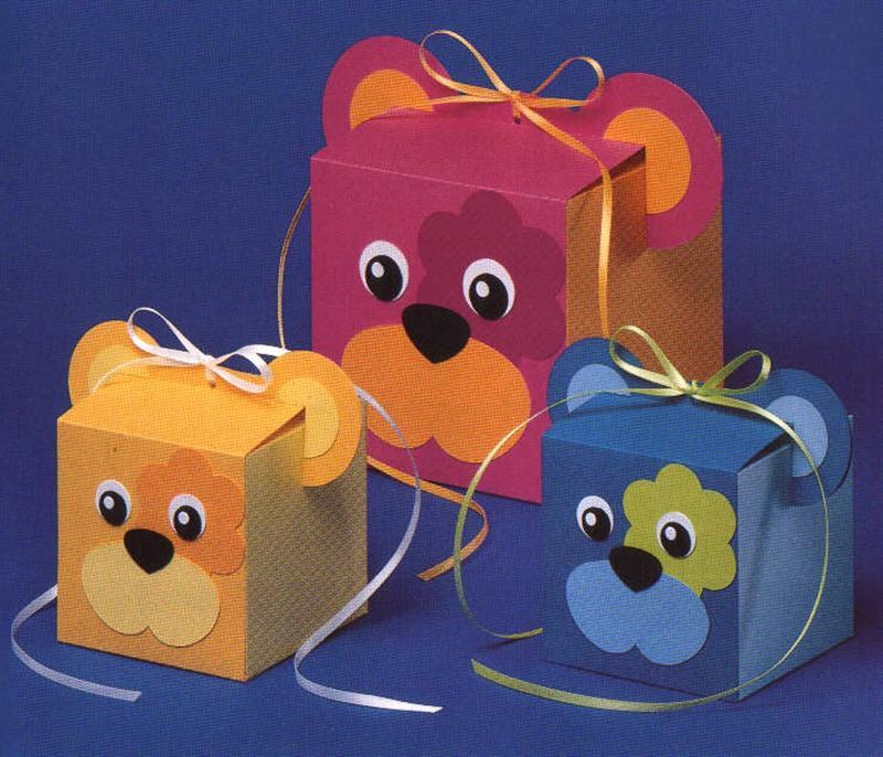 Поделки из цветного картона своими руками для детей