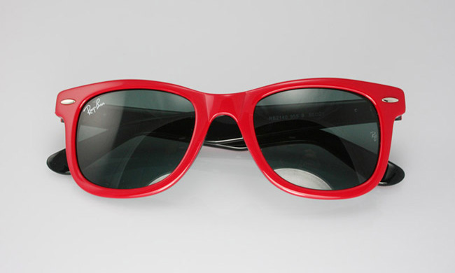 ray ban wayfarer red and black. Original Ray-Ban Wayfarer 2140