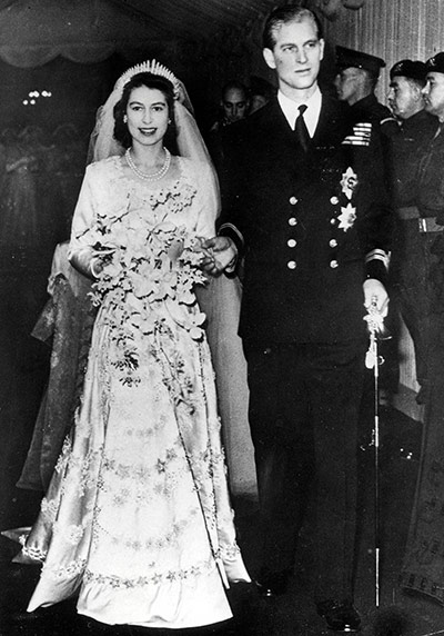 royal wedding elizabeth and philip. King George VI#39;s Wedding