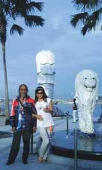 Di Singapura