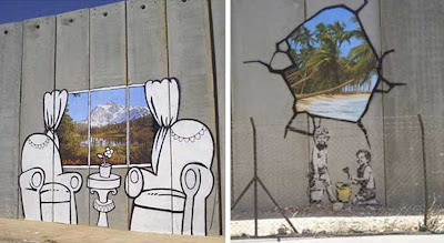 International Street Artists Add (More) Multicultural Sauce To Israeli Society - Banksy 2