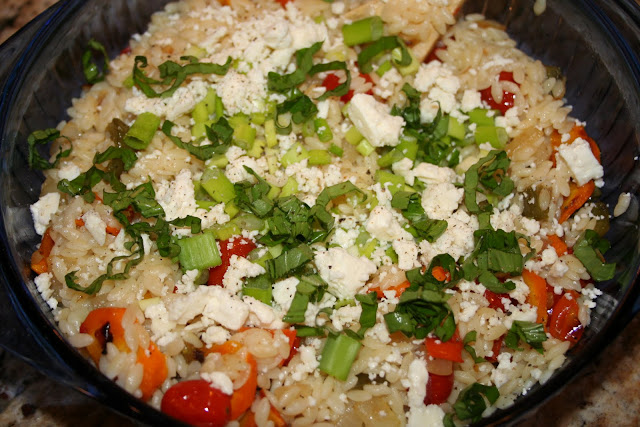 Orzo with Roasted Vegetables – Makin' it Mo'Betta