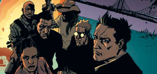 Image from The Losers by Andy Diggle and Jock