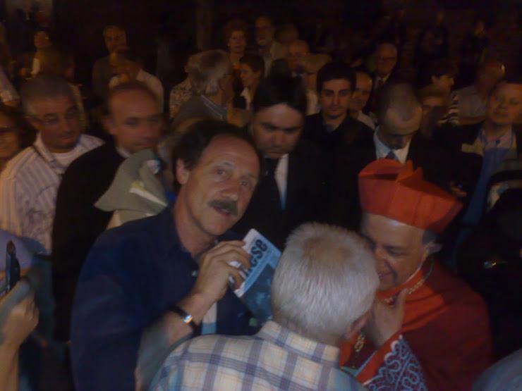 Sagra di San Cristoforo 2008.. Rio e il Cardinale..