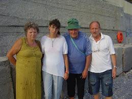 Staff di Acr con Melissa e i suoi..
