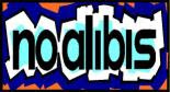 No Alibis Bookstore logo