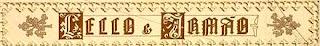 Livraria Lello Porto logo