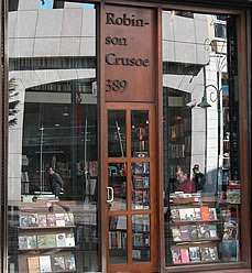 Robinson Crusoe bookstore Istanbul