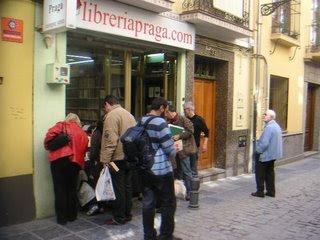 Libreria Praga bookstore Granada