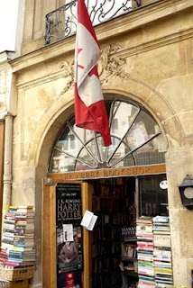 abbey bookshop outside