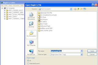 Cara backup registry 2