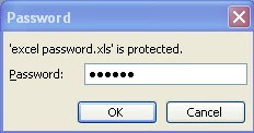 kotak password excel