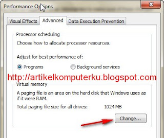 virtual memori windows
