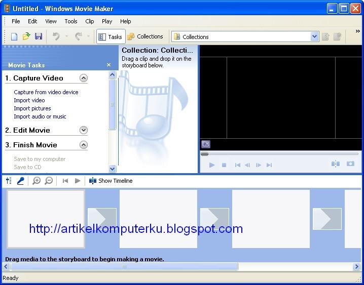 Movie maker 2 windows xp