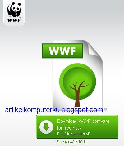 Software wwf ramah lingkungan (membuat dokumen tidak bisa ...