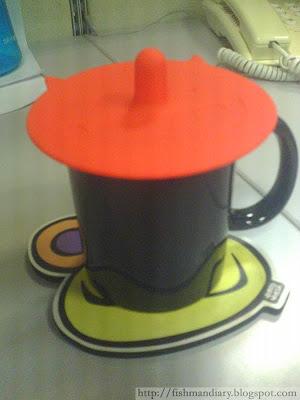 Cup Cover on Mug