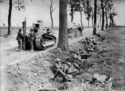 10 Pertempuran Paling Berdarah Selama Perang Dunia I - Unik