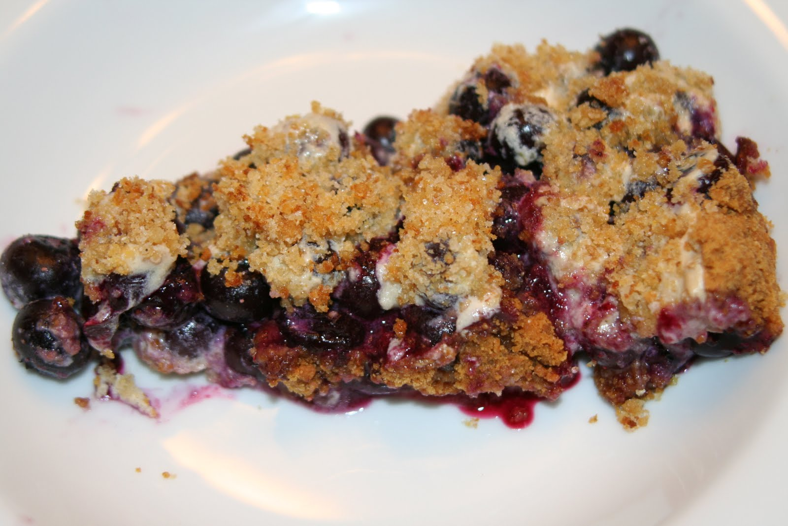 Capital Chef: Low-Fat Blueberry Crumble Pie