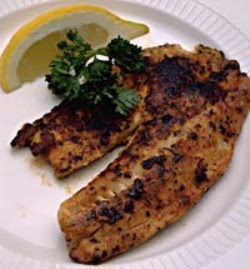 blackened tilapia with secret hobo spices tilapia fillets are rubbed ...