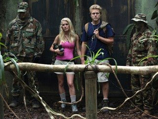 Heidi Montag and Spencer Pratt are shown in an episode of I'm a Celebrity...Get Me Out of Here!(Tyler Golden/NBCU Photo Bank/AP Photo)