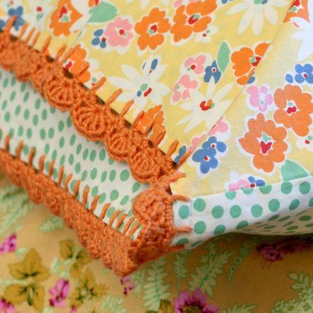 Rosebud Quilting: On the Edge Pillowcase crochet along