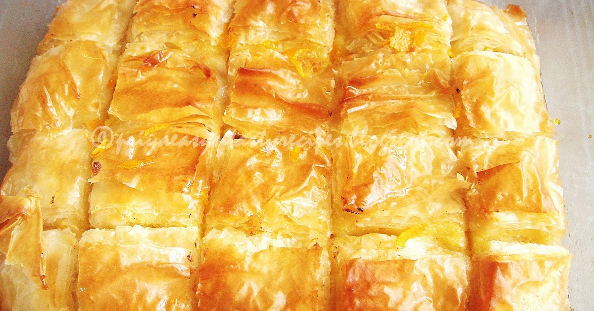 ... Versatile Recipes: Galaktoboureko/Greek Custard Filled Phyllo Pastry