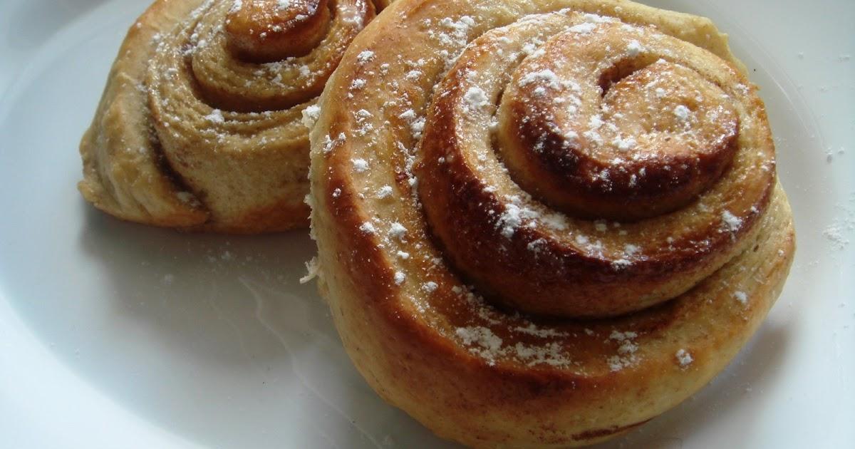 Priya's Versatile Recipes: Eggless Whole Wheat Cinnamon Rolls