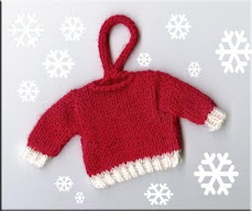 Tiny Christmas Sweater Ornament