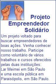 Empreendedor Solidário