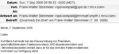 Parteibuch Spiegel Parteibuch Ticker Feed Von 2008 10 07