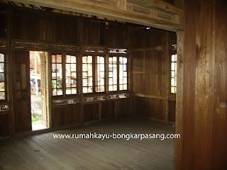 Rumah Kayu Knock Down Type 54 A