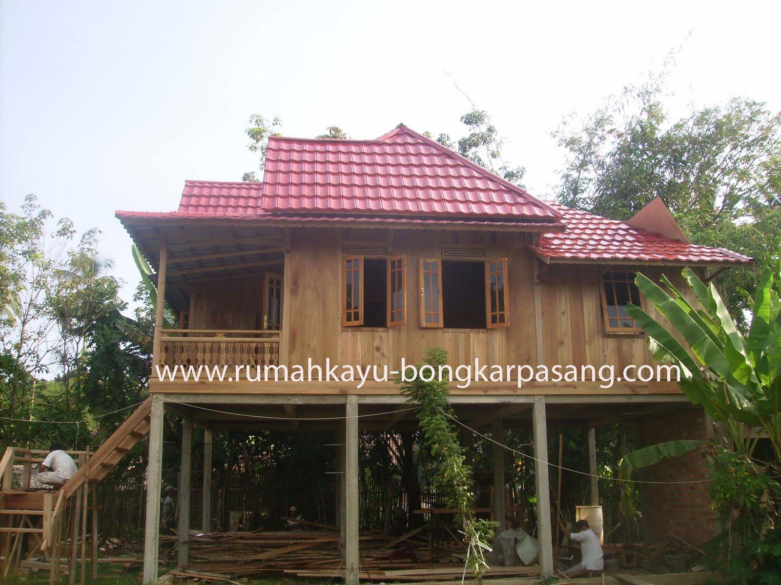 Contoh Desain Ruang Tamu Rumah Panggung Terbaik