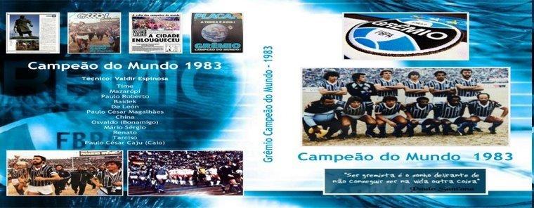 DVDs do Grêmio - Imortal Tricolor