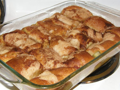 The Cookbook Junkie: Worth waiting for--Mountain Dew Apple Cobbler