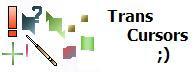 Trans Cursors by Bewilderbeast Koleksi cursor cantik