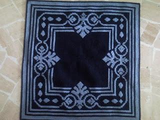 tapete arraiolo azul 3