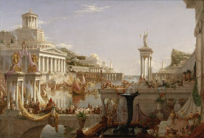 Thomas Cole The Consummation of Empire