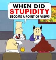Dilbert, Ignorance, Stupidity