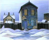 Lawren Harris, Grey Day in Town