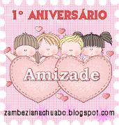 Selo do 1º.Aniversário do blogue Zambeziana