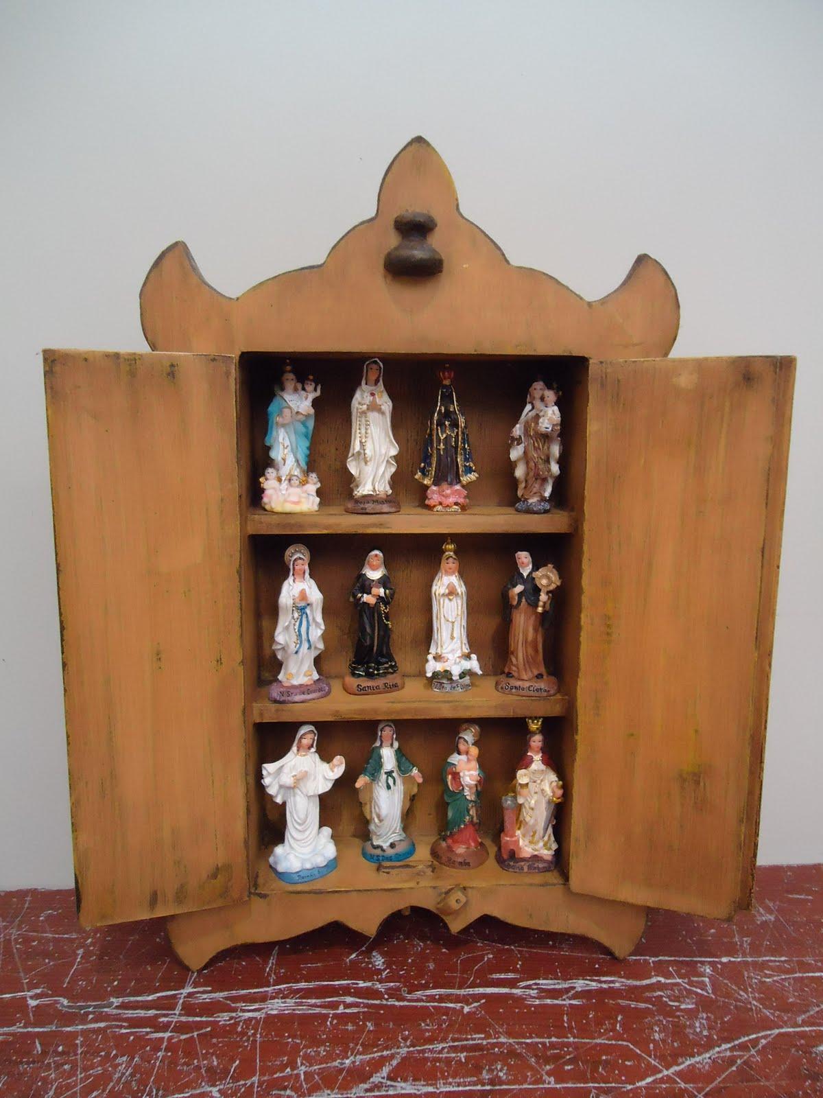 Artesanato em Madeira: Oratórios em madeira (de R$15 a R$60 00) #946137 1200x1600