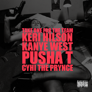 takeonefortheteam Kanye West – Take One For The Team ft. Keri Hilson, Pusha T, and Cyhi The Prince