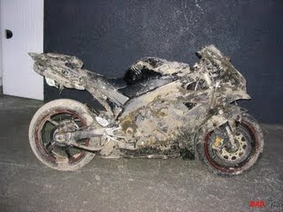 lavar moto com óleo diesel