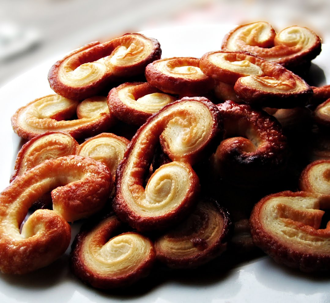 French Desserts: Palmier, or The two Ingredient Cookie.