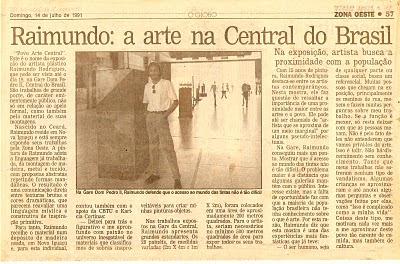 Raimundo Rodriguez - O Globo Zona Oeste