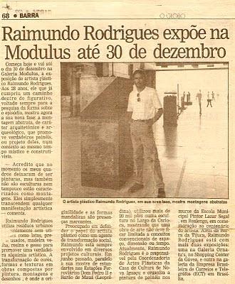 Raimundo Rodriguez - O Globo Barra
