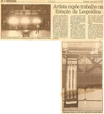 Raimundo Rodriguez - O Globo Leopoldina