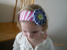 Flower Clip on HeadBand