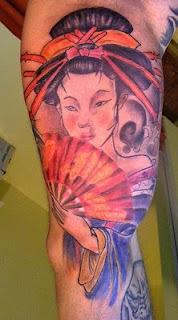 Arm Japanese Tattoo Design
