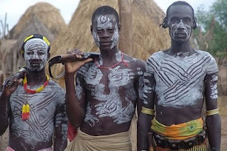 Traditional Body Painting